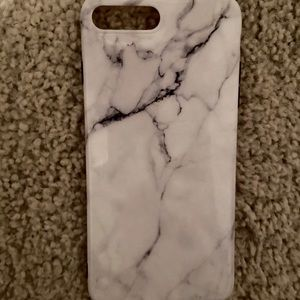 iPhone 8+ phone case - marble